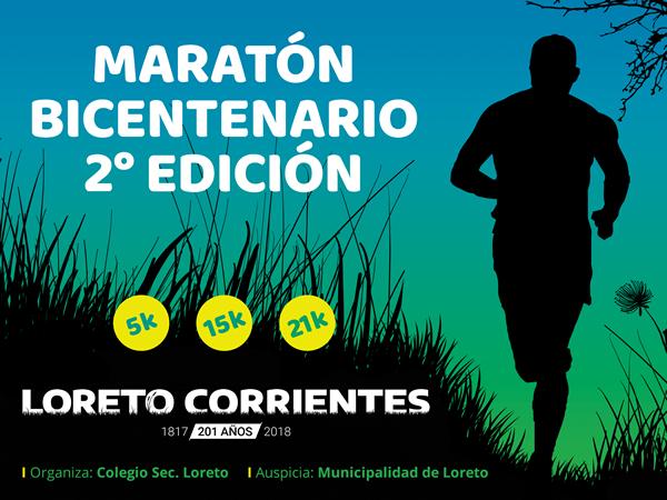 2da. Maraton Bicentenario Loreto - Corrientes
