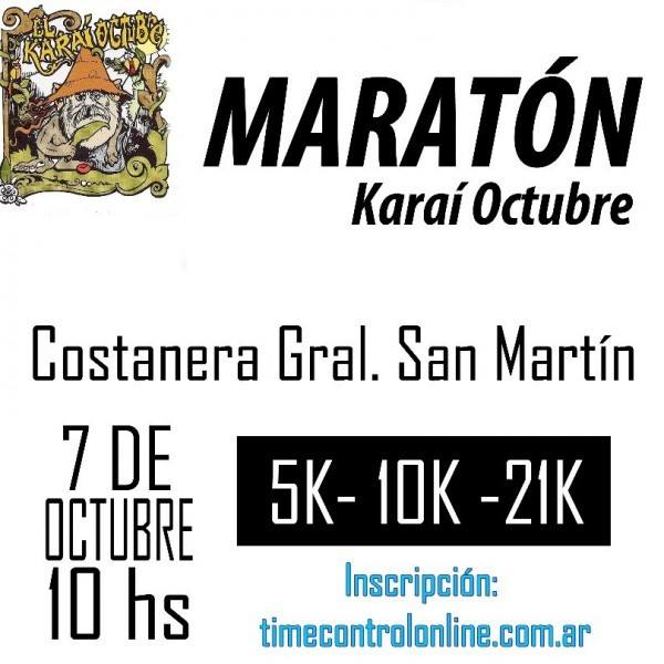 MEDIA Maratón KARAÍ OCTUBRE - Corrientes Capital