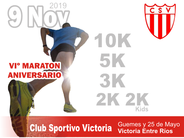 VIº Maraton Aniversario Club Sportivo Victoria