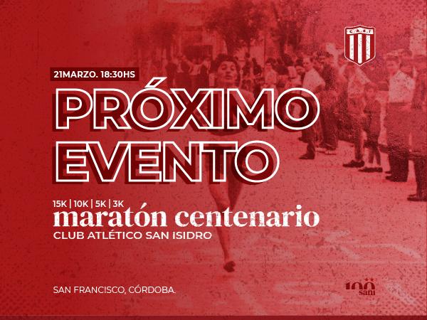 15K Centenario Club Atletico San Isidro-San Francisco
